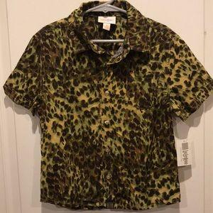 NWT LuLaRoe Thor button-up shirt - 4
